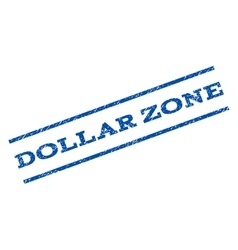 Dollar Zone Watermark Stamp vector