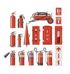 Fire extinguisher fire-extinguisher to for vector