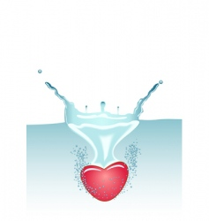 heart failling vector image