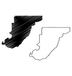 monroe county alabama counties in alabama united vector image