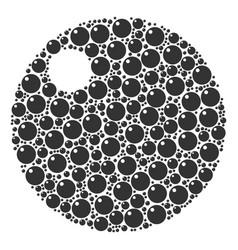 Sphere icon shape vector