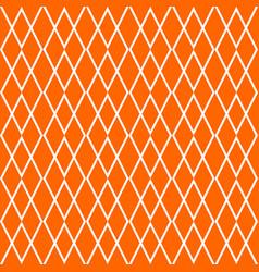 tile orange pattern vector image