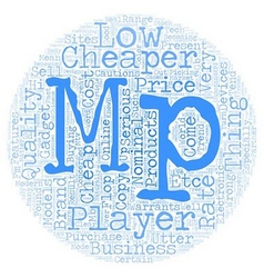 You Can Be An Utter Flop With Cheap Mp Players vector image