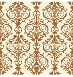baroque illustration vector image vector image