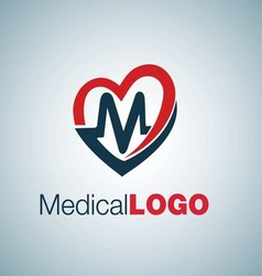 MEDICAL LOGO 7 vector image vector image