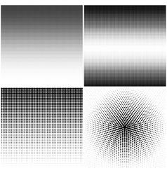 Halftone stipple effect vector image