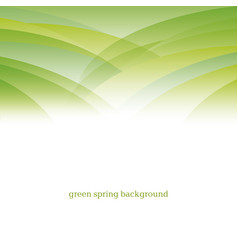 Abstract green color modern background vector