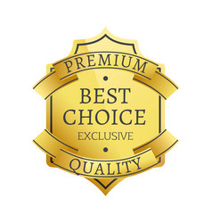 Best choice exclusive premium quality golden label vector