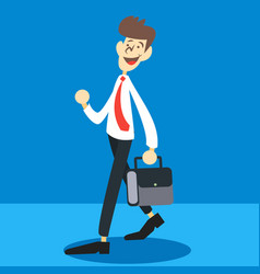 Cartoon businessman vector
