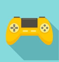 Game controller icon flat style vector