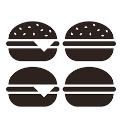 Hamburger icon set vector