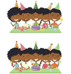 Happy birthday celebration vector