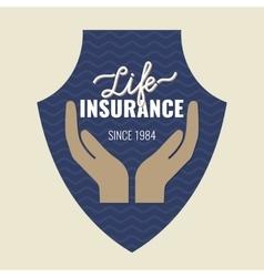 Life insurance logo vector