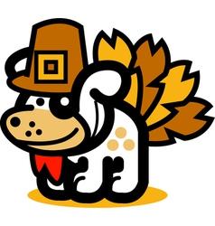 Playful Cartoon Dog vector