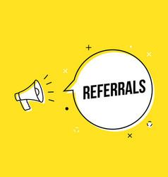 Referral spread icon friend customer icon review vector