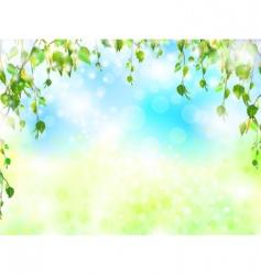 bright summer vector image vector image
