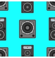 musical equipment seamless pattern vector image vector image