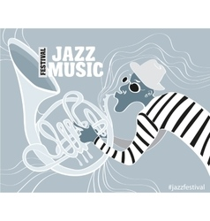 a Jazz poster vector image