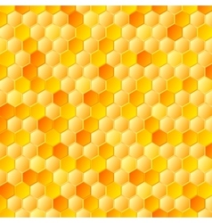 Abstract honeycombs Tech geometric vector image