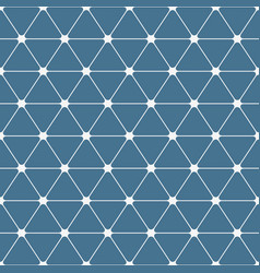 Abstract seamless pattern triangles with rounded vector