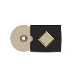 Branding cd design vector