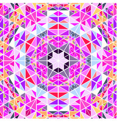 Dynamic abstract polygonal radial mosaic vector