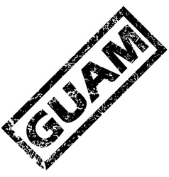 GUAM rubber stamp vector