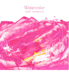 Magenta pink rose marble watercolor texture vector
