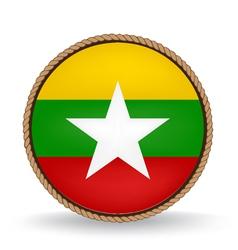Myanmar seal vector