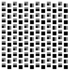 repeatable pattern with squares geometric vector image