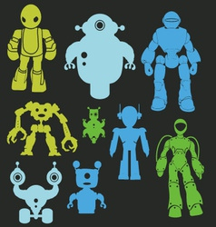 Robot 1 vector image vector image