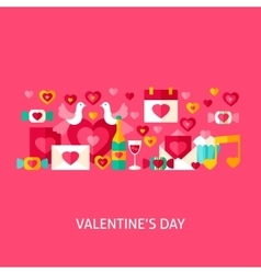 Valentines day greeting vector