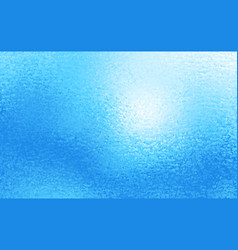 abstract blue ice or foil background vector image