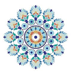 Artistic ottoman pattern series six vector