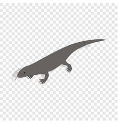 lizard isometric icon vector image