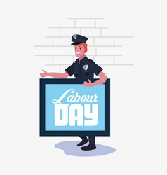 People labour day vector