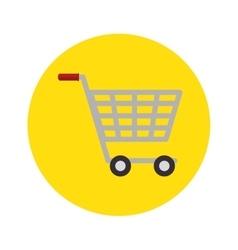 Shopping cart concept market buy store icon vector