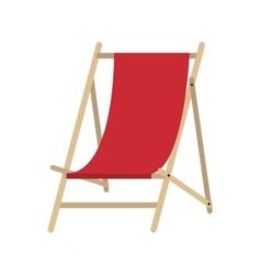 sun chair icon vector image