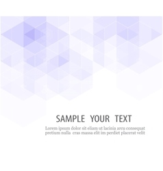 Abstract blue and white background vector image vector image