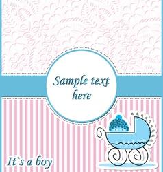 baby in pram vector image