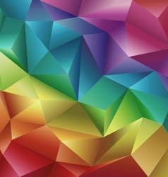 Crystal Background vector image