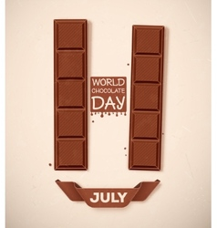 World Chocolate Day vector image vector image