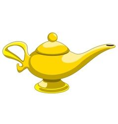 Aladdins lamp vector
