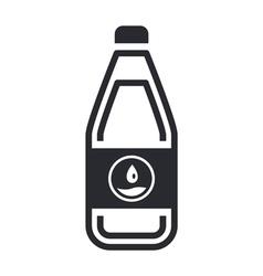 bottle icon vector image