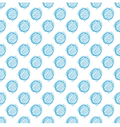 seamless spotted pattern Polka dot vector image