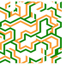 Abstract geometric color stripe pattern vector