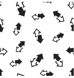 Arrow left and right seamless pattern background vector
