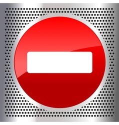 do not enter vector image vector image