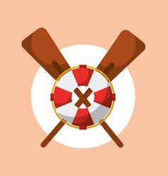 Fishing sport tools vector