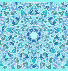 Geometrical abstract round tiled triangle mosaic vector